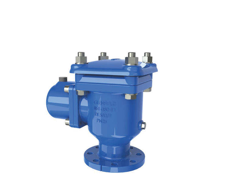 Air valves for water